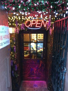 The entrance to Falafel Den at 6 Phila Street.Sarah Marlin / The Lightning Rod