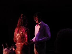 "Alyssa D'Angelo as Bret, left, and Liam McKenna as Calvin in ""Calvin Berger."" Eli Fisher / The Lightning Rod"