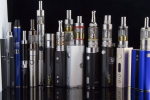 Various types of e-cigarettes, also known as vapes, are shown. Wikimedia Commons / CC-BY-SA 2.0