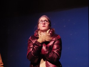 "Izabel Cavotta as Glory in ""Almost, Maine."""