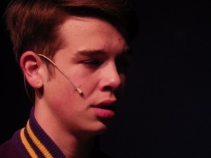 "Noah Casner as Easton in ""Almost, Maine."""