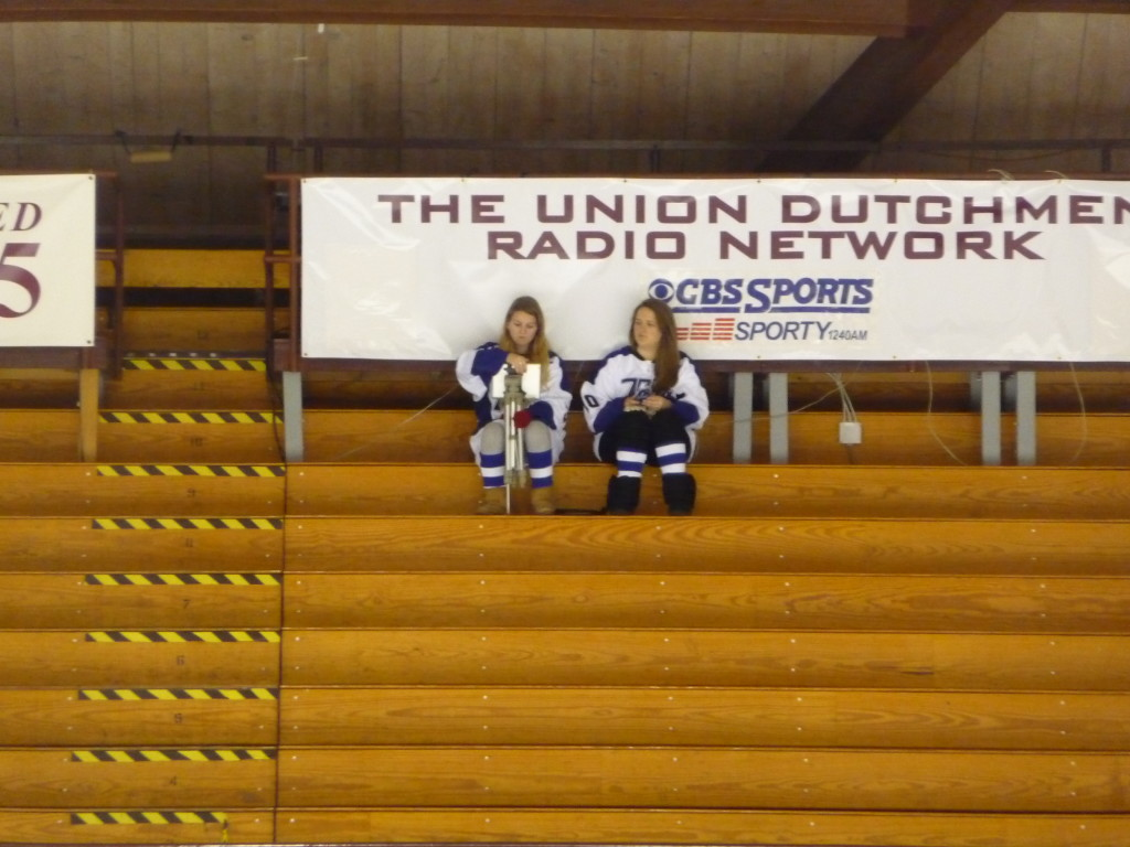 The Saratoga student section at tuesday's game.